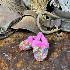 Shopkins Children's Girl's Slippers Size 5/6